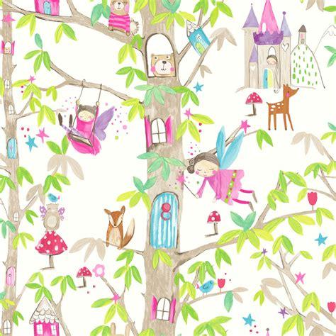 glitter wallpaper wilkinsons arthouse wallpaper woodland fairies white at wilko com