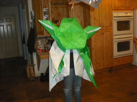 Origami Yoda Costume - origami yoda costume origami yoda