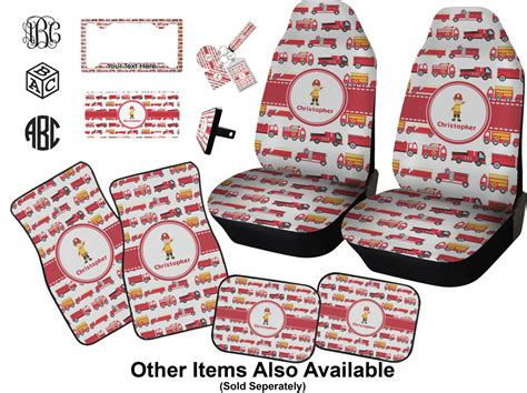 Personalized Floor Mats For Trucks by Firetrucks Diamond Key Chain Personalized You Customize It