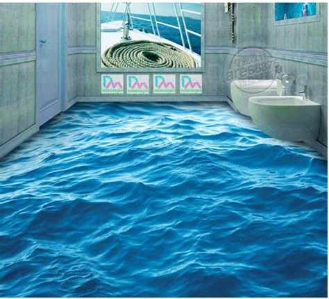 fashion customized  floor ground water surface wave