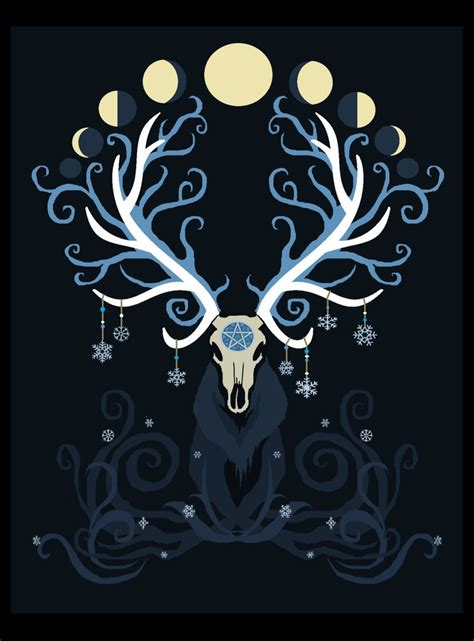 moon elk by orupsia on deviantart