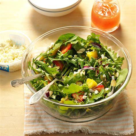 Garden Salad Strawberry Garden Salad Recipe Taste Of Home