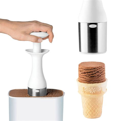 Kitchen Design Magazines cuisipro ice cream scoop amp stack the green head