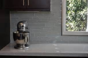 Glass Kitchen Tile Backsplash Glass Tile Backsplash