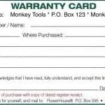 warranty card template word 6 free maintenance request form templates word excel