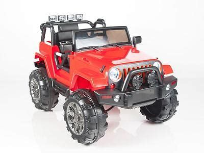 kids red jeep rc vehicle remote control toys big foot jeep pink teen