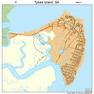 tybee island map 1378036