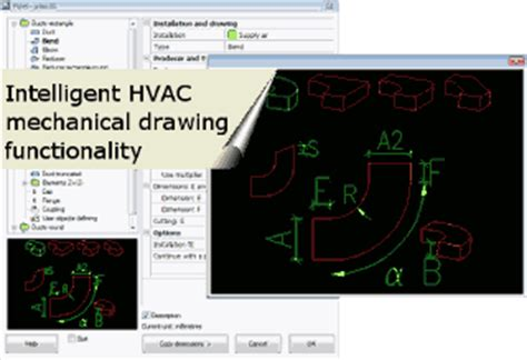 progeplan cadprofi hvac and piping extension for autocad