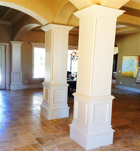 pillar designs for home interiors decorative columns