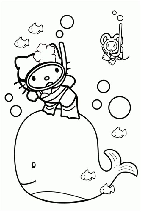 hello kitty balloons coloring pages hello kitty balloons pages coloring pages