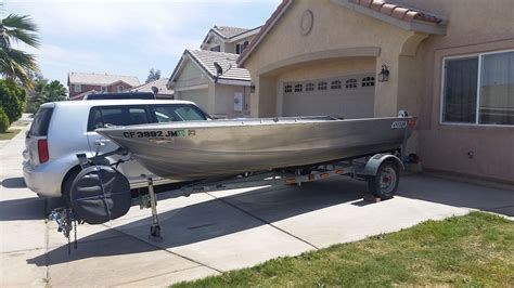 aluminum bass boats for sale in california gregor aluminum 1991 for sale for 2 399 boats from usa