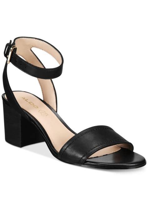 aldo sandals aldo aldo s lolla two block heel sandals