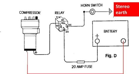 wiring diagram for air horns efcaviation
