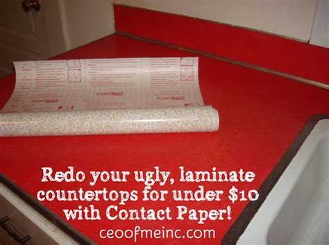 How To Redo Laminate Kitchen Countertops by Redo Your Laminate Countertops For 10 With