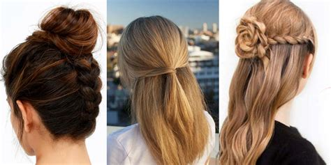 quick and easy hairstyles at home 41 diy cool easy hairstyles that real people can actually