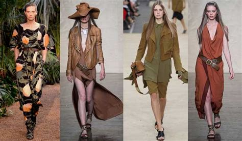 Safari Trend by 10 Fashion Trends For Summer 2014 Bcn Cool