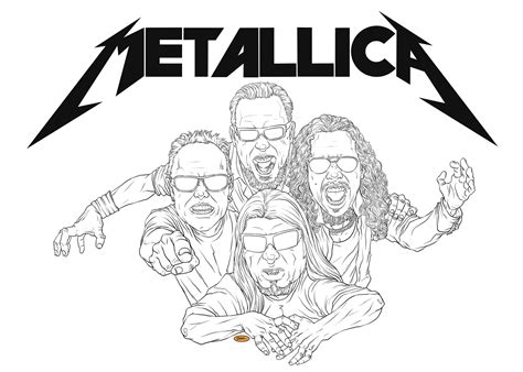 metallica coloring pages metallica colouring pages page