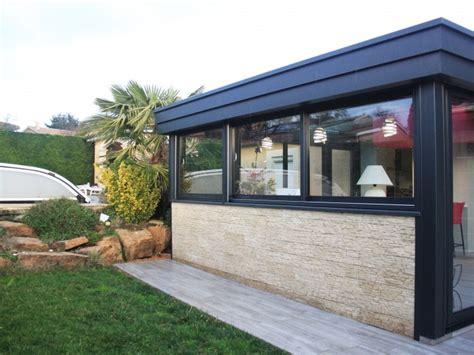 Veranda Avec Muret En by Extension Par V 233 Randa D Une Maison Extension V 233 Randa