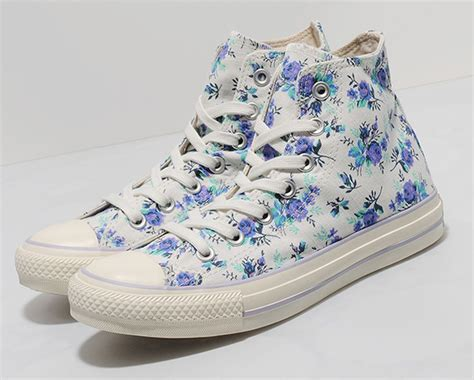 Sepatu Kanvas Floral 1 converse chuck all hi quot floral quot sneakernews