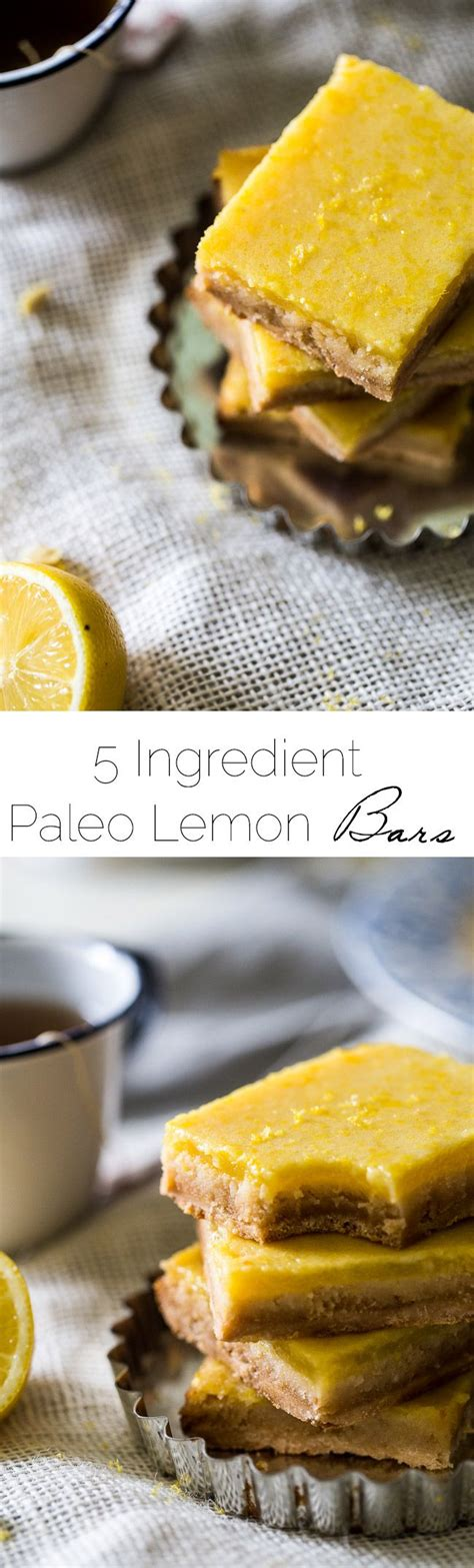 paleo simple wholesome and delicious recipes for healthy living books healthy recipes paleo lemon bars a healthy grain
