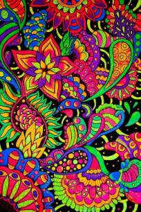colorful zentangle my has an notebook or something from high school