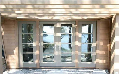 glass garage doors residential
