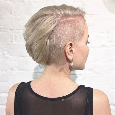 blonde bob undercut 40 cute and easy to style short layered hairstyles page