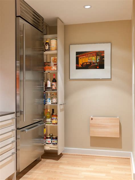 slim pullout pantry houzz