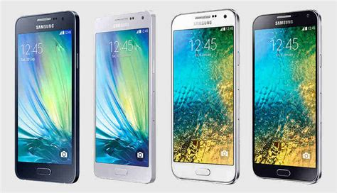 samsung galaxy a3 a5 e5 and e7 impressions digit in