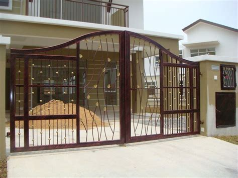 modern gate design for house modern homes iron main entrance gate designs ideas