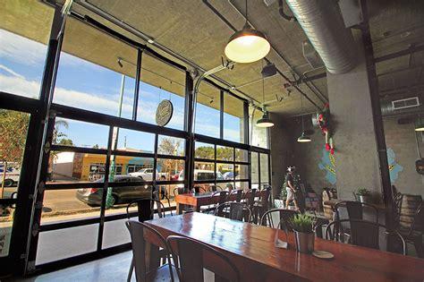 Sliding Door Awning Garage Doors For Breweries And Restaurants In San Diego