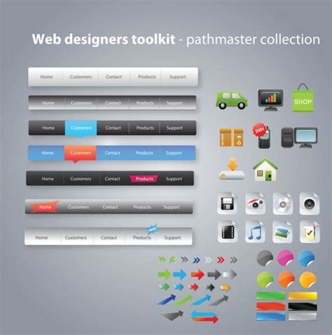 web layout online tool useful web design tools pack 03 vector free vector in