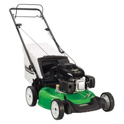 lawn boy 21 in rear wheel drive self propelled gas lawn