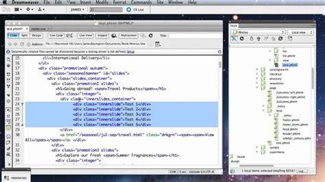dreamweaver quick tutorial 10 simple dreamweaver tips for web designers youtube