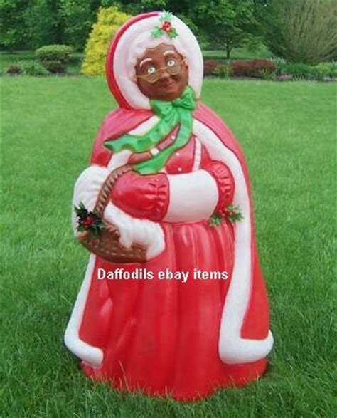 28 best black santa claus outdoor decorations lighted
