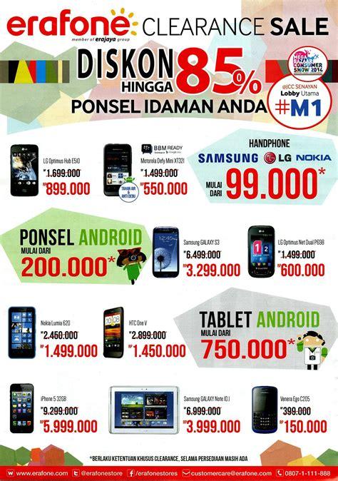 erafone z10 mega bazaar consumer show 2014 promo murah smartphone