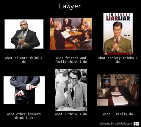 Lawyer Memes - what they think i do what i really do meme the complete