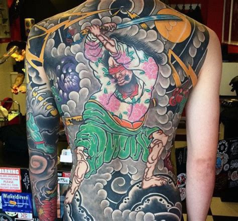 old school japanese tattoo style 120 full back tattoos for men masculine ink designs