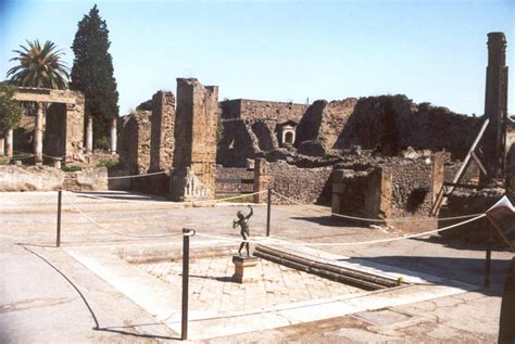 House Of The Faun Pompeii by Calabria And Amalfi 2000