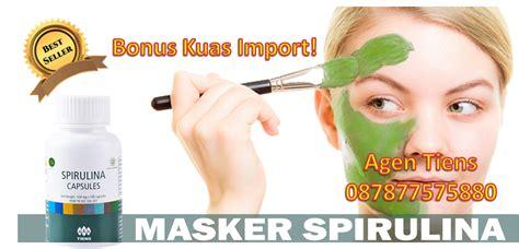 Masker Kapsul Spirulina jual masker kecantikan spirulina tiens agen resmi produk