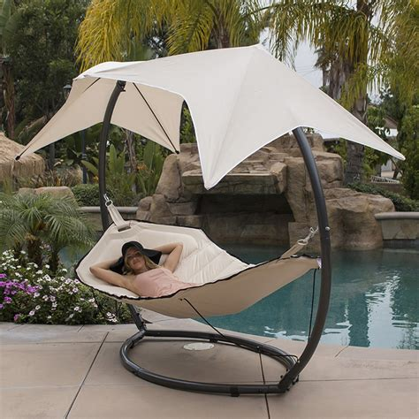 big w swing chair patio hammock w sunroof canopy outdoor swing backyard
