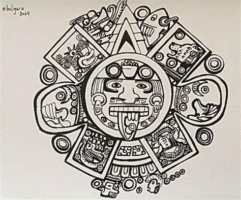 Calendario Azteca Tattoos Pictures Calendario Azteca Mis Pinturas Dibujos Y Garabatosmis