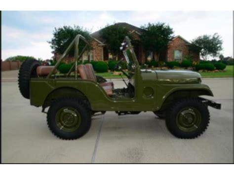 Classic Jeep Classic Jeep Willys For Sale On Classiccars 10 Available