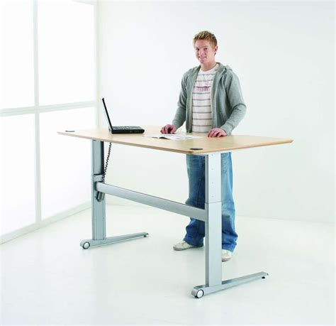 1000 Images About Sit Stand Desks On Pinterest Sit Standing Desk Ideal Height