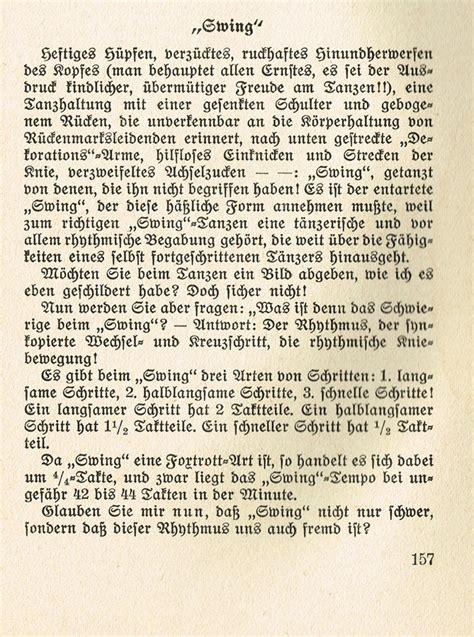 foren jazz swing und ragtime jazzverbote im dritten - Swing Im Dritten Reich