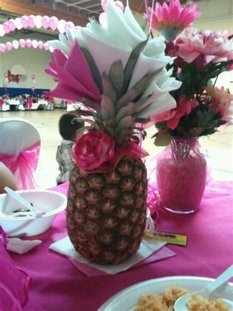 napkin holder pineapple  centerpiece pineapple