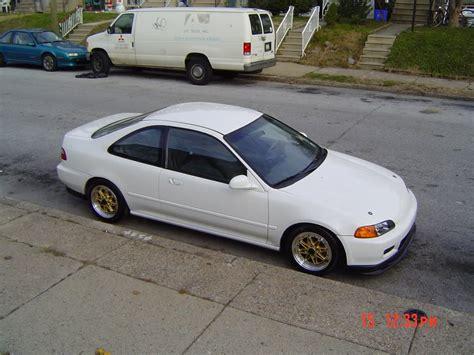 Honda Civic 95 95 honda civic dx type r white for sale or trade 95
