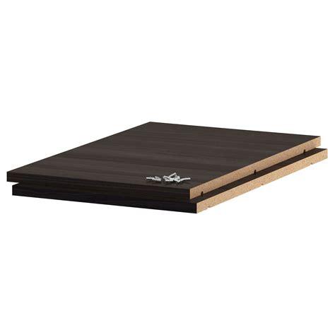 Shelf Trust by Utrusta Shelf Wood Effect Black 40x60 Cm