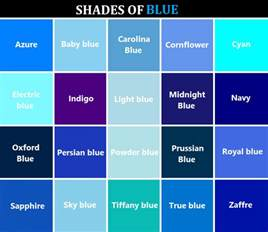 names for the color blue writing colors reference referenceforwriters