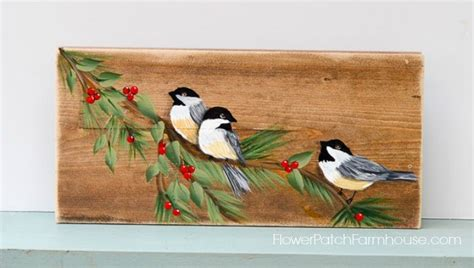 watercolor tutorial chickadee learn how to paint a chickadee bird flower patch farmhouse